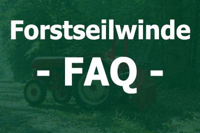 Forstseilwinden FAQ und Ratgeber